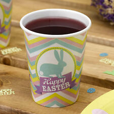 Happy Easter Rabbit Cups Tableware Party Supplies Egg Hunt