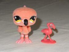 Littlest Pet Shop LPS 800 Funniest Pink Flamingo Bird Fuzzy Floc Special Toy