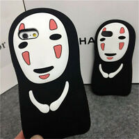 Ghost 3D cartoon no face Devil Silicone soft Case cover for iphone 7 plus 5S 6s