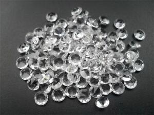 5000 Clear Wedding Table Diamonds Confetti Crystals High Qualtiy Party Supply