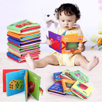1PC Children Kids Cloth Cognize Read Book Intelligence Development Safe Toy Gift