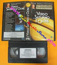 VHS film VERSO SATURNO E OLTRE Piero Angela L'UNIVERSO DEAGOSTINI (F57) no dvd