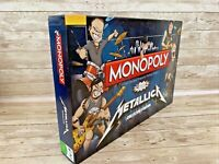 Winning Moves Monopoly Metallica Collectors Edition Board Game