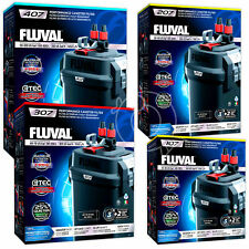 Fluval 107 207 307 407 External Power Filter Includes Media  Aquarium Fish Tank