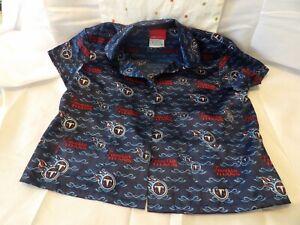Tennessee Titans Reebok Womens Silky Pajamas SZ M