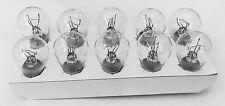 10x Glühlampe Glühbirne Kugellampe  12V 21/4W BAZ15d  P21/4W  B40566a