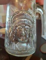 Vintage 1985 Statue Of Liberty Bicentennial (1886-1986) Collectible Glass Mug