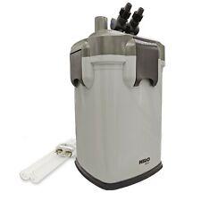 HIRO AQUATICS External Canister Aquarium Filter with UV Sterilizer, Media Includ