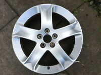 """GENUINE OEM PEUGEOT SW 407 17"""" COSMOS SPARE ALLOY WHEEL 7JX17CH5-48 DV138-T14"""
