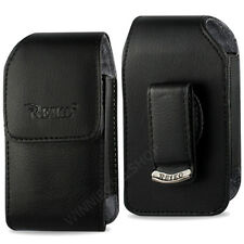 OEM REIKO Vertical Leather Case for Jethro Senior FLIP Phone SC213 SC330