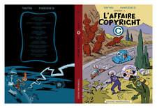 TINTIN - PARODIES - TOME 1 : L'AFFAIRE DU COPYRIGHT - NEUF / PARODIE
