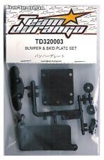 RC Team Durango TD320003 DEX410 DESC410 Bumper & Skid Plate Set DESC410Rv2 Buggy