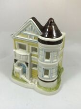 Ogatiri Decorative Victorian ceramic house crafted  In Japan With LED TeaLight