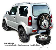 SUR MESURE Voiture - jeep Pneu Référence HOUSSE DE ROUE avec Photo de sa chien
