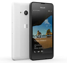 Microsoft/Nokia Lumia 550 - ** ** libres Sim (Desbloqueado) - 4G Windows Phone-Blanco