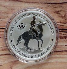 2021 John Wayne 1oz Silver Bullion coin in capsule Perth Mint