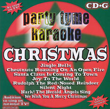 Party Tyme Karaoke: Christmas music CD+G NEW Karaoke Machine