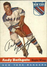 1954-55 Topps Card #11 Andy Bathgate  New York Rangers A11791  - EX
