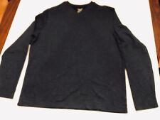 Faded Glory Mens Pullover Crewneck BlueCotton Blend Sweater Size Large EUC