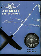 1939 RCA AVR-8D/8E Aviation Radio Compass Aircraft Direction Finder Brochure