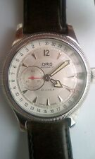 ORIS Big Crown Commander watch silver dial pointer date 640 7482 box & papers
