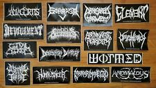 BRUTAL BANDS - Sticker Pack - Abominable Putridity Devourment Guttural Secrete