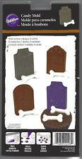 Tombstones & Bones Halloween Chocolate Candy Mold from Wilton #2498 - NEW