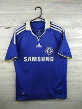 Chelsea jersey kids Xl adult small 2008 2009 home shirt soccer football Adidas