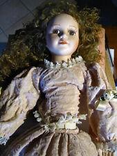 Autentica bambola porcellana/biscuit vintage, produzione Italia (?)