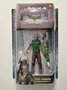 DARK KNIGHT The Joker figure MOVIE MASTERS DC UNIVERSE with missile launcher
