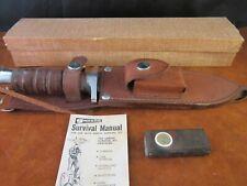 Garcia Survival Knife NOS Made in Brazil