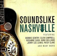 SOUNDS LIKE NASHVILLE: 19 COUNTRY HITS .. BOBBY GENTRY, GLEN CAMPBELL & VARIOUS