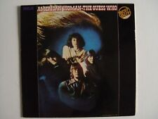 "AMERICAN WOMAN THE GUESS WHO12"" Vinyl LP NM- CLASSIC ROCK  CL 13673"