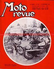 MOTO REVUE 1851 YAMAHA 125 YAS-1 YAS1 ; Nouvelles OSSA ; Histoire de SUZUKI 1967