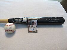 ADEINY HECHAVARRIA~BASEBALL~BAT~CARD~BALL~PLAYER USED~AUTO~SIGNED~PRE ROOKIE~MLB