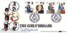 1982 jóvenes-Benham próximamente Off-Chicas Brigada H/S-firmado por Mary Fitzpatrick