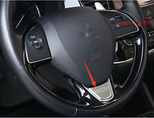 Stainless Car Steering Wheel  Cover Trim For Mitsubishi Outlander 2016 2017