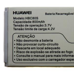 Huawei HBC80S 800mAh Replacement Battery U1250 U1280 A608 C2905 C2008 C7188