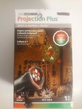 LED Lightshow Projection Plus Whirl A Motion + Static 2 Effects in 1 Christmas