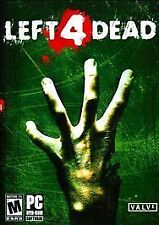 NEW! Left 4 Dead (PC, Windows dvd-rom 2008)  BRAND NEW & FACTORY SEALED!