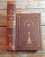 """Rare Antique Hardcover """"History Of Art"""" By Dr. Wilhelm Lübke 3rd edition 1874"""
