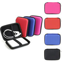 """Portable Zipper Carry Case Bag Cover Protector For 2.5"""" HDD USB Hard Disk Drive"""