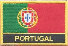 Portugal Flag Embroidered Patch Badge - Sew or Iron on