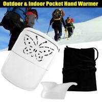 Portable Pocket Hand Warmer Indoor Outdoor Small Handy Ultralight Warmer He L2B2