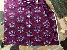 NEU Patchworkstoff Baumwolle Free Spirit 0,5x1,10m Lila Edel Muster