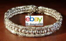 Beautiful selling fashion jewelry Tibet Tibetan silver ladies bracelet bangle