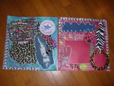 Scrapbook Pages PUNK ROCK Premade Music-2 Pgs- ROCKIN!!