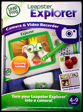 New - Leapfrog - LEAPSTER EXPLORER CAMERA & VIDEO RECORDER - 4-9 years