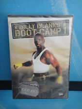 Billy Blanks Boot Camp Tae Bo DVD New