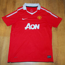 Nike Manchester United 2010-2011 home shirt (Size XLB/S )
